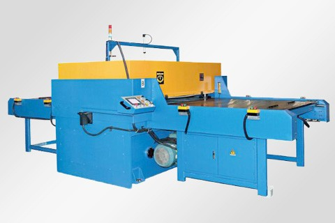 Single/double side auto-feeding cutting machine
