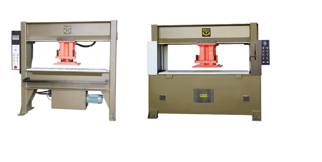 What's the difference between atom type and four column type travel head cutting machine