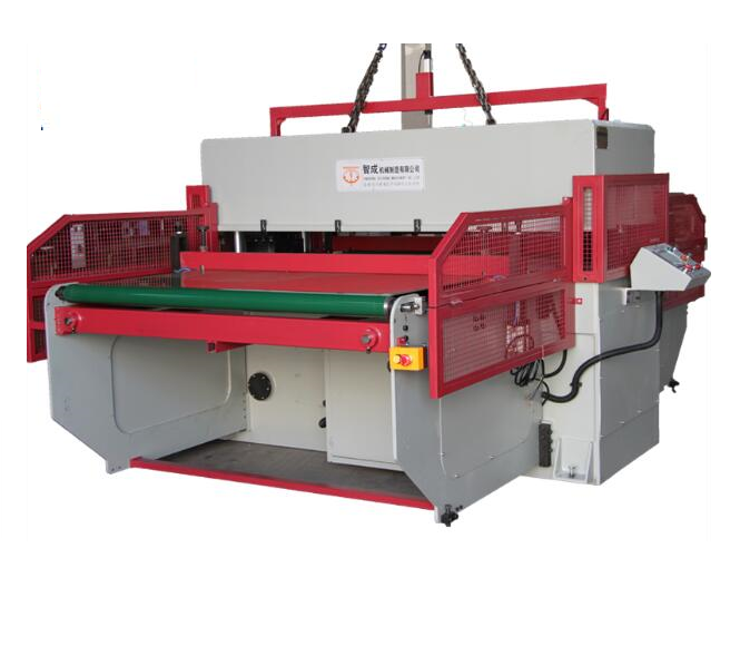 Features of Automatic Hydraulic double side belt cutting machine